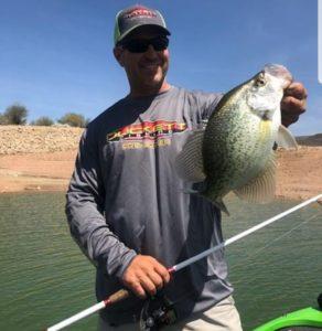 Ron Johnson catching fish